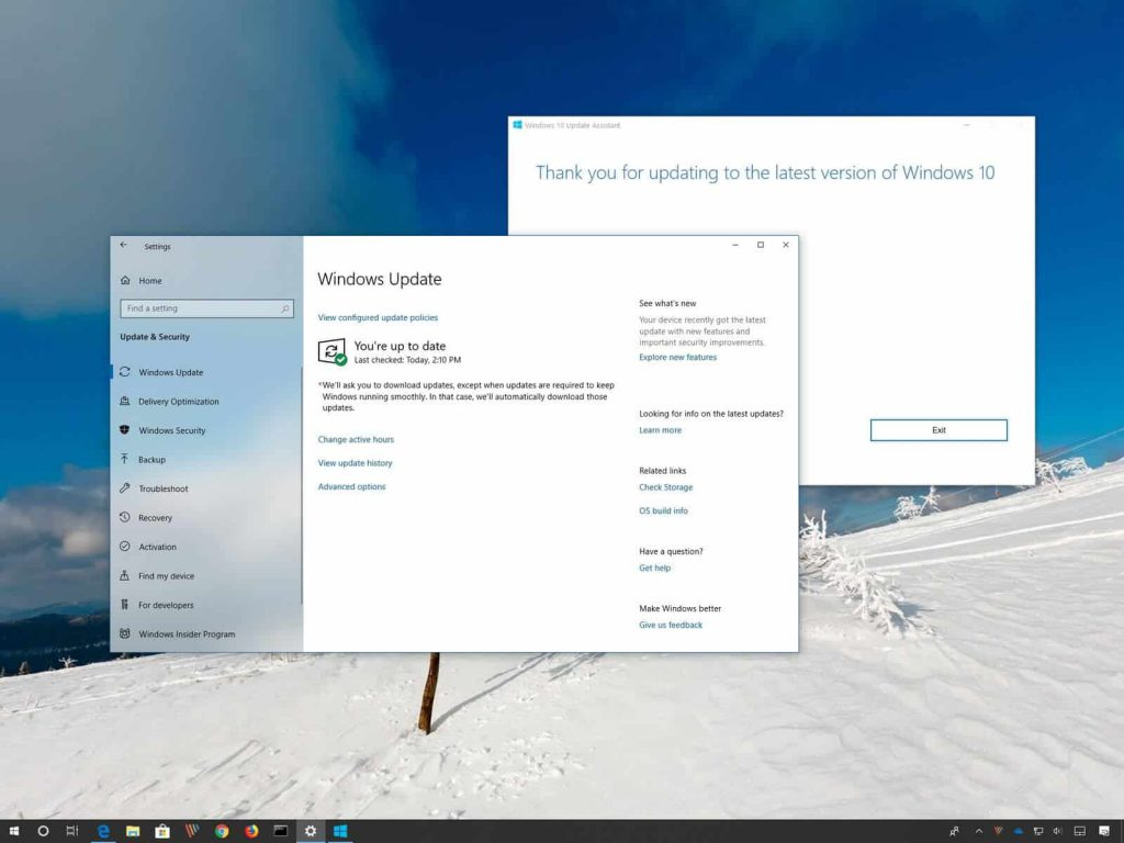 May 2019 Windows update
