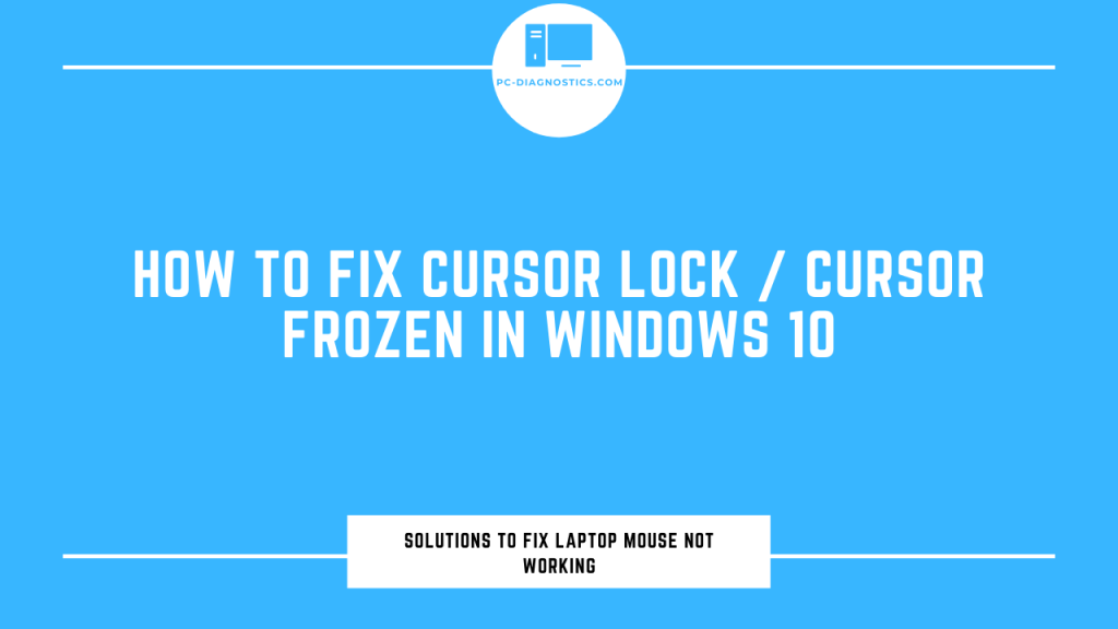 cursor lock windows 10